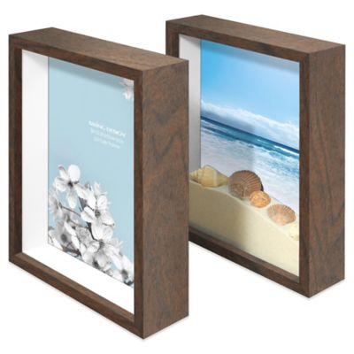 Swing Design™ Chroma Walnut 8-Inch x 10-Inch Photo Frame