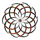 Iron Circles Wall Decor