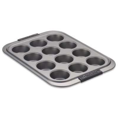 Anolon® Advanced Non-Stick Bakeware 12-Cup Muffin Pan