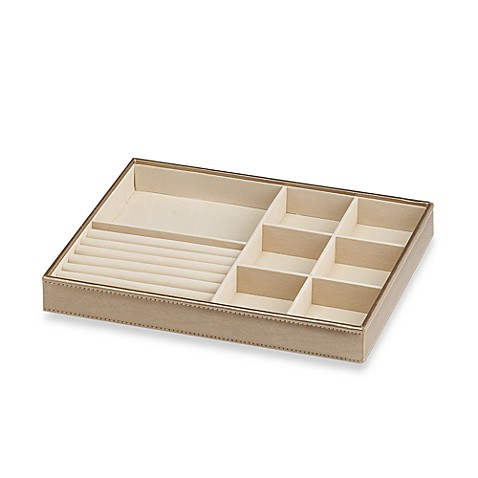 ersand large 7 compartment with ring holder stackable