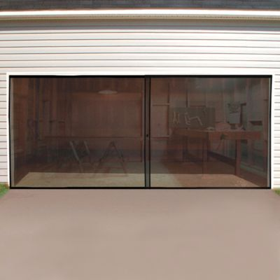 Screened Garage Doors