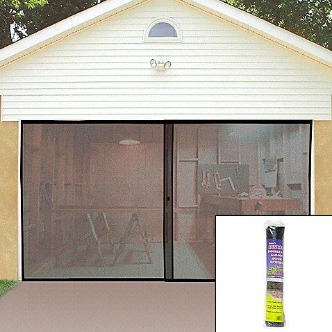 Single garage screen door bed bath beyond - Single car garage door screen ...