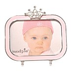 Mud Pie™ Jeweled Crown Pink Rectangular Frame