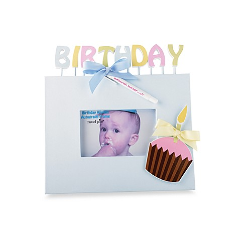 Mud Pie® Birthday Wishes 6-Foot x 4-Foot Autograph Frame