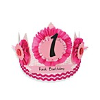 Mud Pie™ Little Princess First Birthday Girl Paper Crown