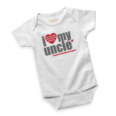 Sara Kety® I Love My Uncle Size 18 Months Bodysuit