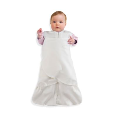 HALO® SleepSack® Size Newborn Swaddle 100% Organic Cotton in Cream