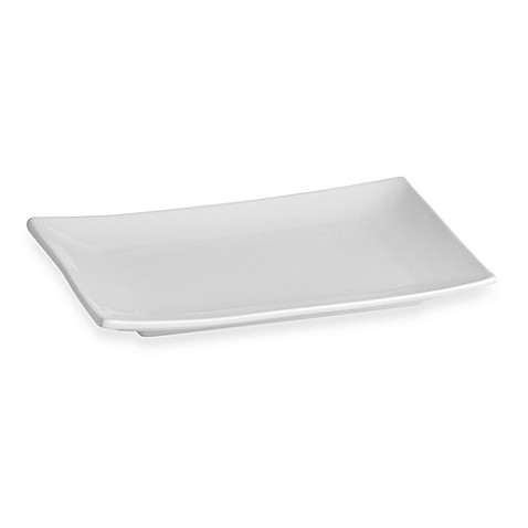 Everyday White® Rectangular 11-Inch x 8-Inch Dinner Plate