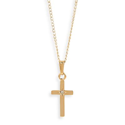 Elegant Baby® 14K Gold Filled Cross Necklace