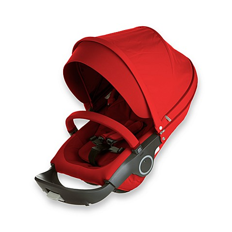 Stokke® Xplory® Seat Complete in Red