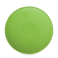 Solid Green Round 8 1/2-Inch Salad Plate