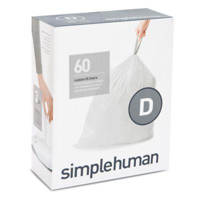 Bed Bath And Beyond Simplehuman Trash Bags