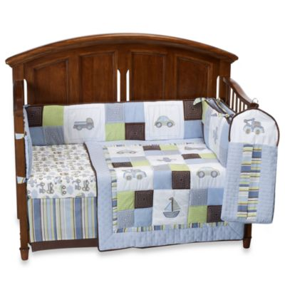 kidsline™ Mosaic Transport 6-Piece Crib Bedding