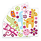Lollipop Jungle Wall Decals
