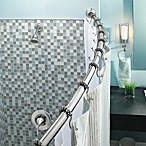 Moen® Adjustable Curved Chrome Shower Rod