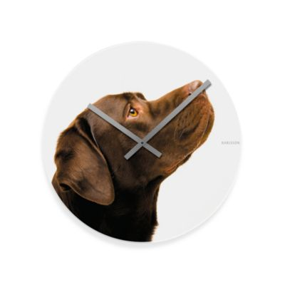 Choco the Dog 16-Inch Wall Clock