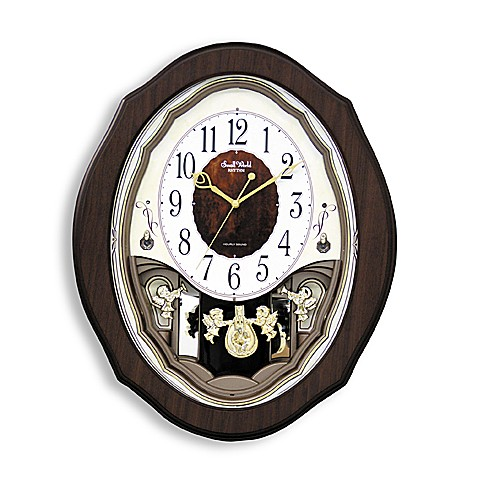 Rhythm Precious Angels Clock