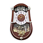 Rhythm Concerto Entertainer Wall Clock