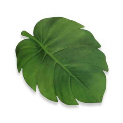 Tropical Leaf Vinyl Placemat