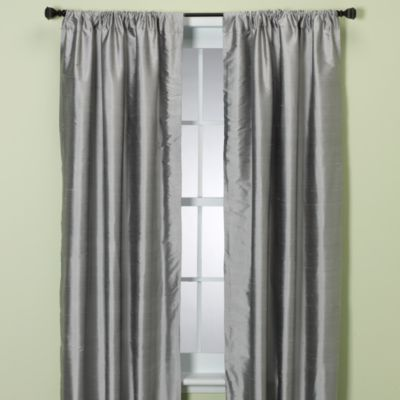 Glenna Jean Kirby 100-Inch Window Panels in Grey
