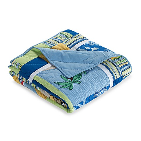 Surfer's Bay Twin Quilt