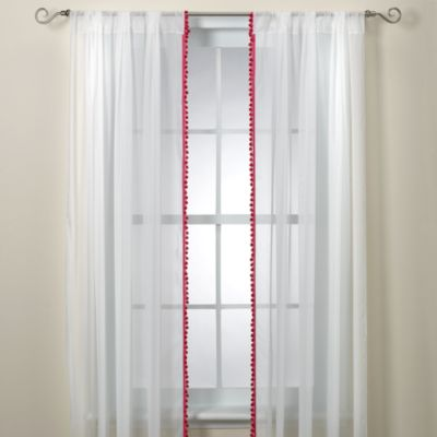 Glenna Jean Kirby 100-Inch Sheer Window Panels (Set of 2)