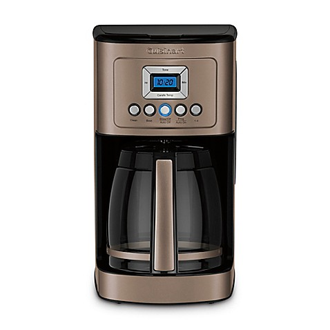Cuisinart® PerfecTemp® 14-Cup Programmable Coffee Maker in Umber