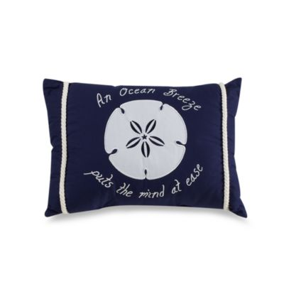 Ocean Breeze Oblong Toss Pillow