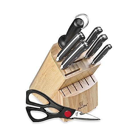 Ergo Chef® Pro Series 8-Piece Cutlery Block Set