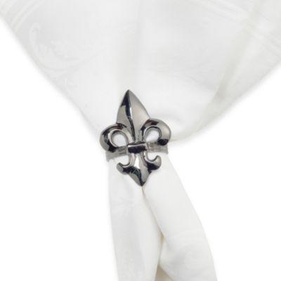Fleur De Lis Napkin Ring
