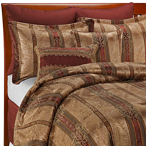 Croscill Townhouse 8 Piece Complete Bed Ensemble King