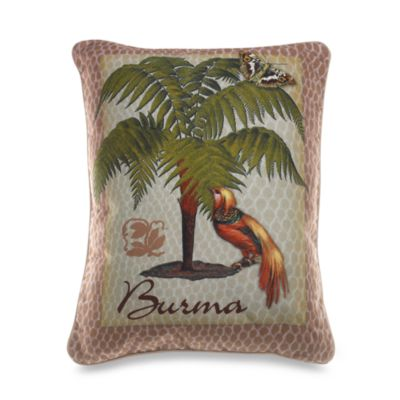 Palm Breeze Breakfast Pillow