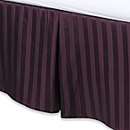 Wamsutta® 500 Damask Bed Skirt in Purple