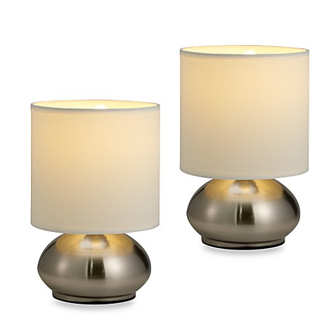 touch base controlled lamps set of 2 is not available for sale. Black Bedroom Furniture Sets. Home Design Ideas