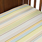 Glenna Jean Finley Striped Fitted Crib Sheet