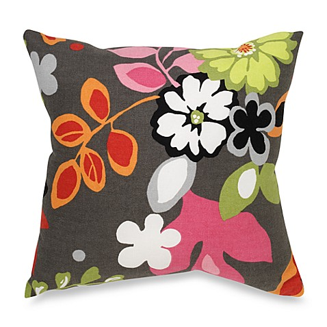 Glenna Jean Kirby Floral Throw Pillow