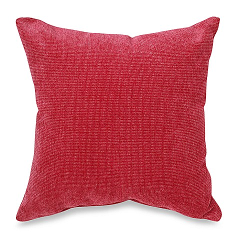 Throw Pillows Rules : Glenna Jean Kirby Square Throw Pillow in Raspberry - buybuy BABY
