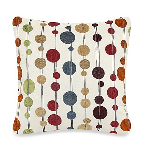 Hodgepodge 20-Inch Square Throw Pillow