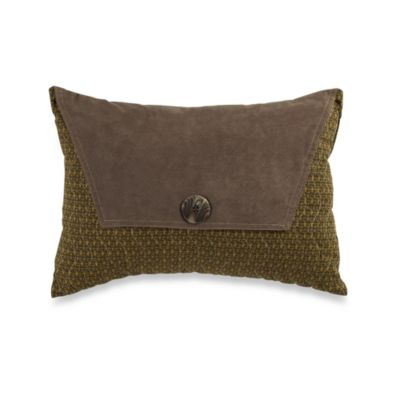 Aztec Diamond Oblong Toss Pillow