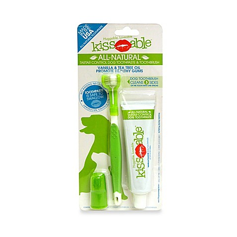 KissAble! Dog Toothbrush & 2.5-Ounce Toothpaste