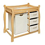 Badger Three-Basket Changing Table in Natural