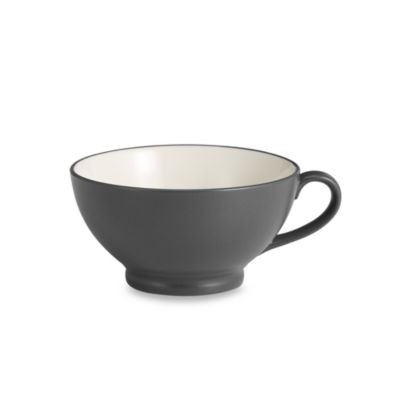 Noritake® Colorwave Graphite 25-Ounce Handled Bowl