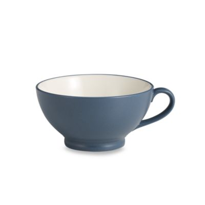 Noritake® Colorwave Blue 25-Ounce Handled Bowl