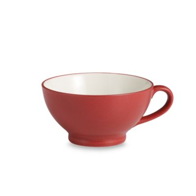 Noritake® Colorwave Raspberry 25-Ounce Handled Bowl