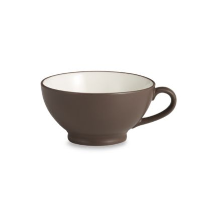 Noritake® Colorwave 18-Ounce Handled Bowl in Chocolate