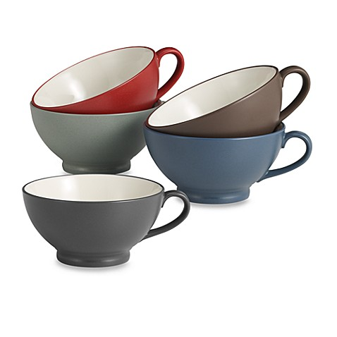 Noritake® Colorwave 18-Ounce Handled Bowl