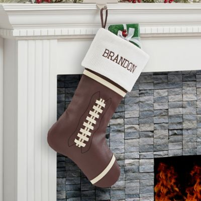 Football Christmas Stocking