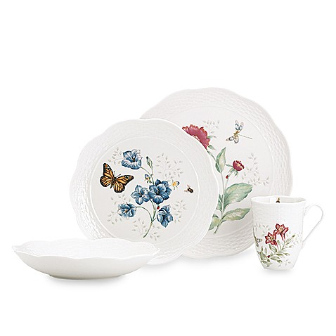 Lenox® Butterfly Meadow® Basket 4-piece Place Setting
