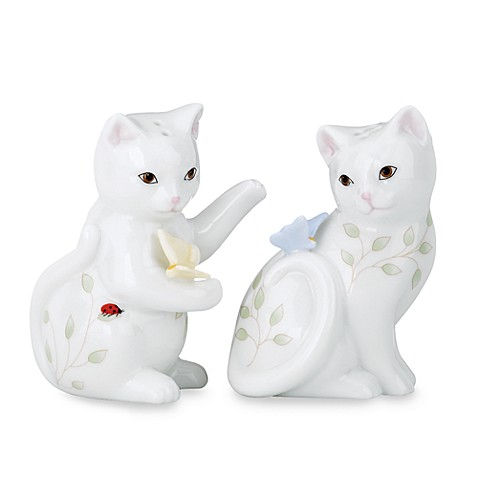 Lenox® Butterfly Meadow® Kitten Salt and Pepper Shakers