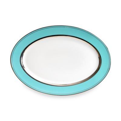 Lauderdale Dinnerware By Darbie Angell For Cru Dinnerware 14.5-Inch Oval Platter